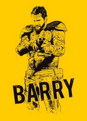 Barry, yellow background . From Wyrmwood - An Aussie In ...