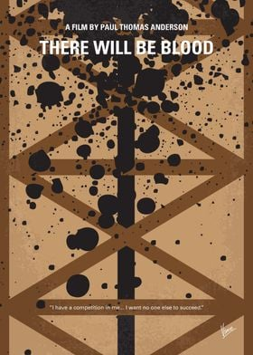 No358 My There Will Be Blood minimal movie poster A st ...