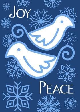 Joy and Peace Doves