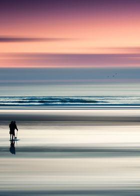 Two people enjoying a walk