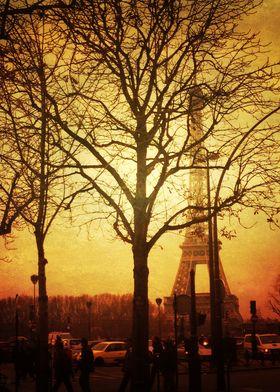 Fall in Paris 1