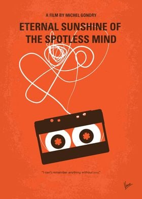 No384 My Eternal Sunshine of the Spotless Mind minimal  ...