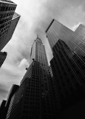 Chrysler building reaching for the sky. The classic Art ...