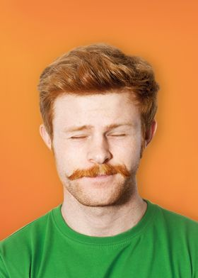 ginger mustache dreams