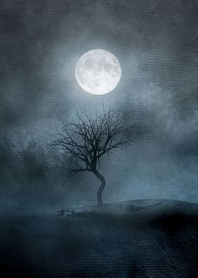 The moon and the Tree II