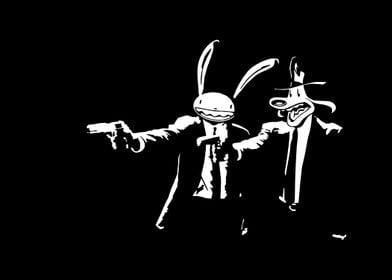 Sam and Max plus Pulp Fiction