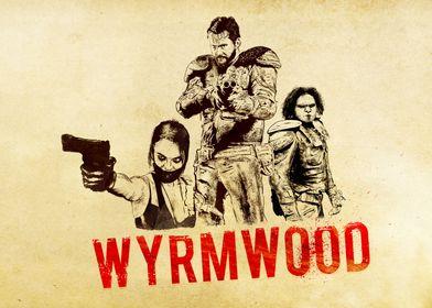 Wyrmwood ARTWORK .  Brooke Barry Benny