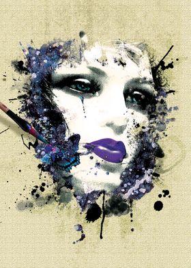 Mannequin Beauty Metal Poster