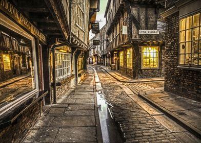 The Little Shambles, York, England