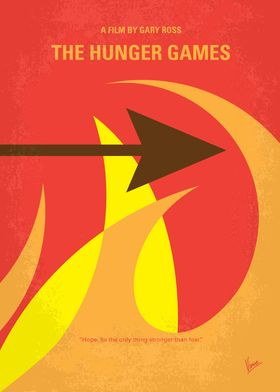 No175-1 My The Hunger Games minimal movie posterKatniss ...