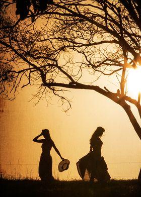 Dance at sunset!