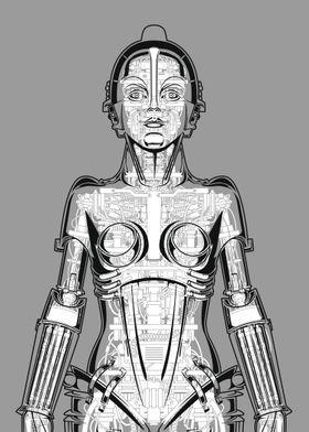 Metropolis Robot Anatomy