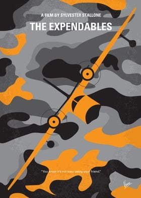 No413 My The expendables minimal movie poster A CIA op ...