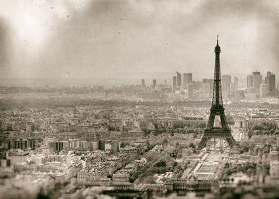 Tour Eiffel - Vintage