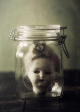 doll in a jar