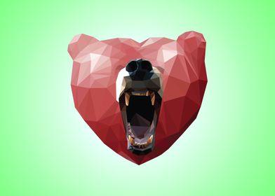 The Love Bear - Emerald