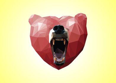 The Love Bear - Citrine