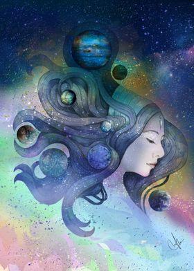 A thousand worlds on my mind