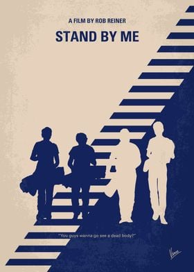 No429 My Stand by me minimal movie poster After the de ...