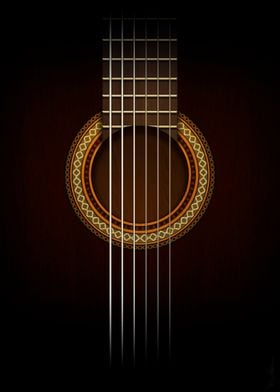 Full Guitar Black