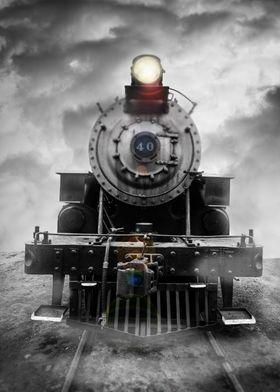 Dream Train - fine art photography by Edward M. Fieldin ...