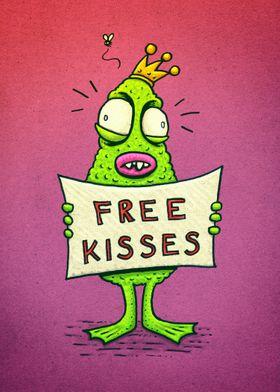 Free Kisses!
