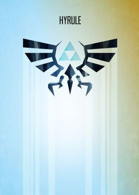 Hyrule Rising Minimal Vector Art Inspired by the Legend ...