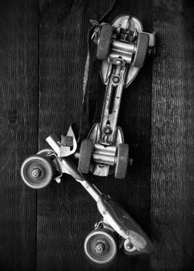 Roller-skates by fine art photographer Edward M. Fieldi ...