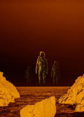 Escape from red planet