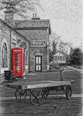 The Telephone Box on Hadlow Road