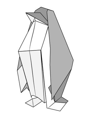 Penguin - Origami
