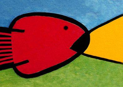 La pesca de un Miró