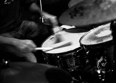 Drums of jazz