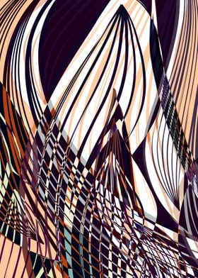 SWEEPING LINE PATTERN I-A. ©2015 by Pia Schneider   ate ...