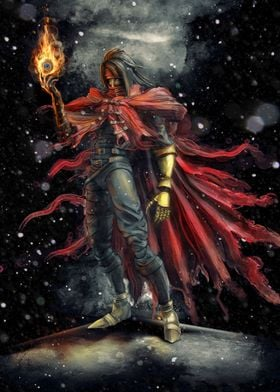 Vincent Valentine epic fire materia inspired by Final F ...