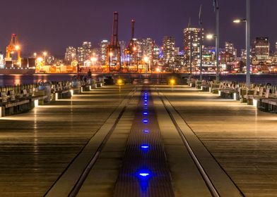 Take off to Downtown Vancouver from the pier at Lonsdal ...