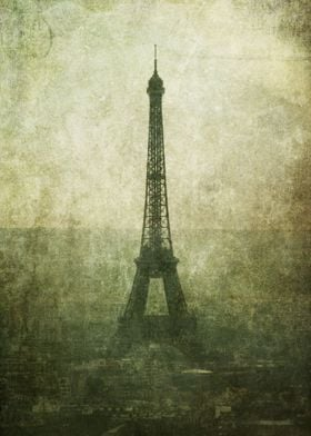 The ever classic Eiffel Tower in Paris.