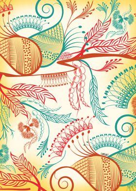 Decorative Paisley Patterns