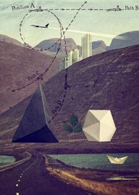 Collage from Distant Lands