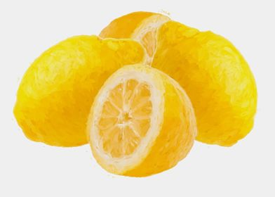 painted lemon