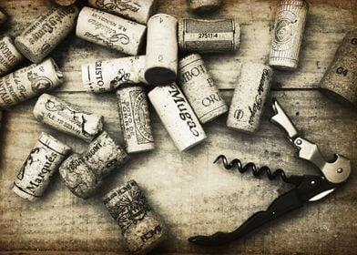 """Corked"" is a collection on Spanish wine corks  ..."
