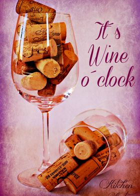 Wine Time Wine Time is taken from the Kitchen Art coll ...