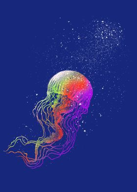 Rainbow jellyfish