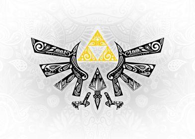 Zelda - Hyrule white