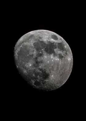 Moon of April 30th Waxing Gibbous 90% Illuminated