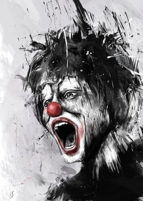 The clown