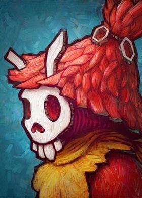 The Skull Mask by Ronan Lynam