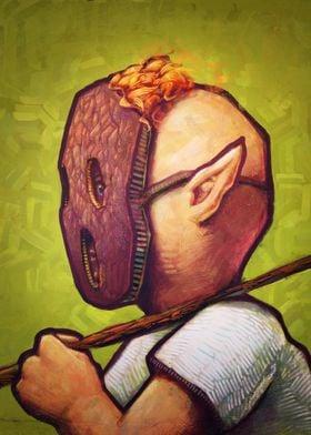 The Spooky Mask by Ronan Lynam