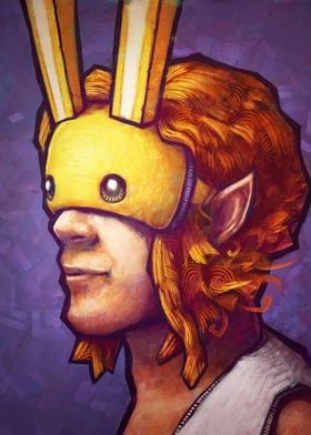The Bunny Hood by Ronan Lynam