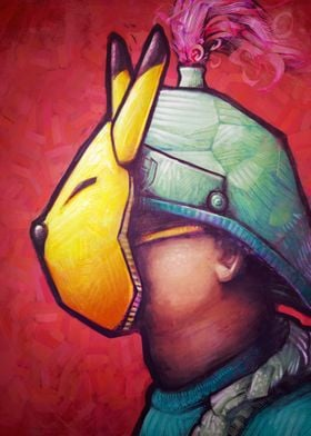 The Keaton Mask by Ronan Lynam